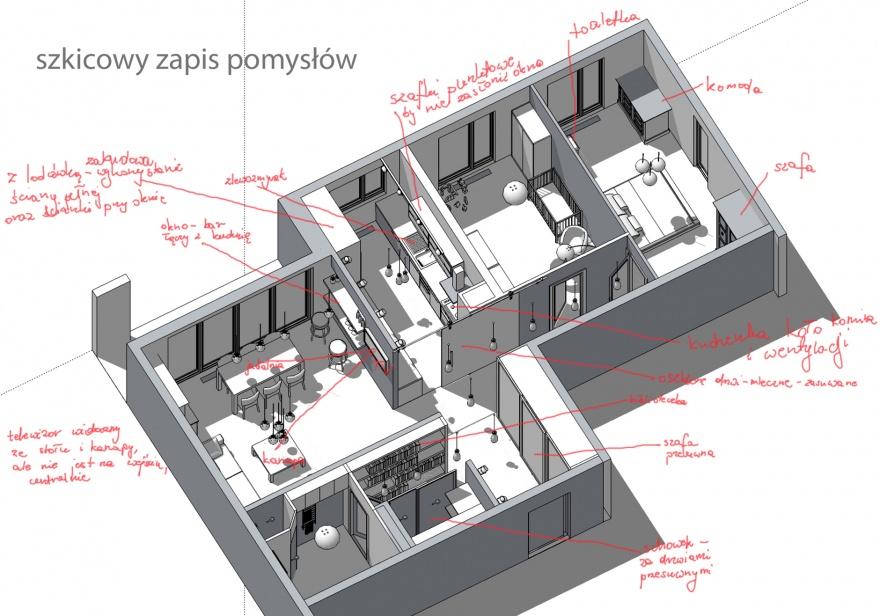 Mieszkanie Kasi i Piotra / Apartment of Kasia & Piotr