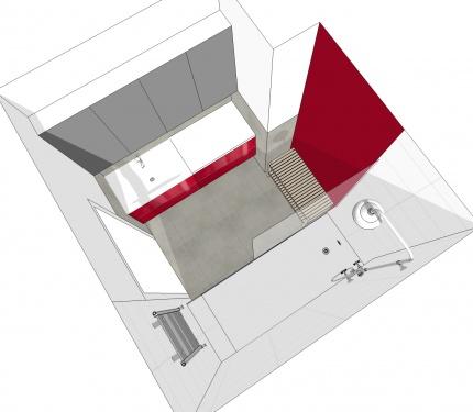 Projekt łazienki.