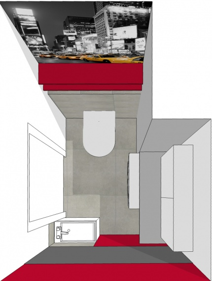 Projekt toalety.