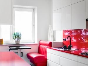 kuchnia w czerwieni