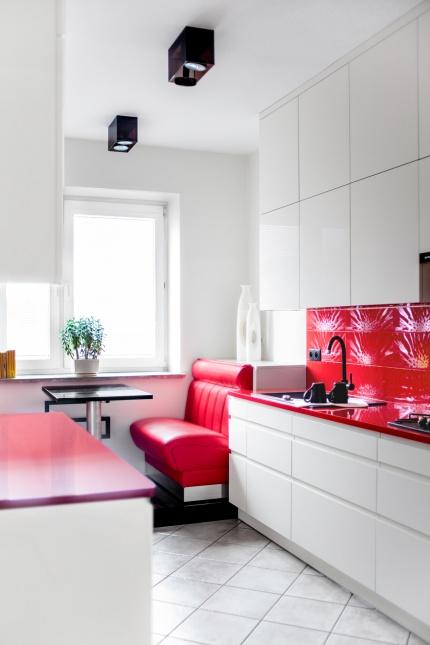 Czerwona kuchnia | Red Kitchen